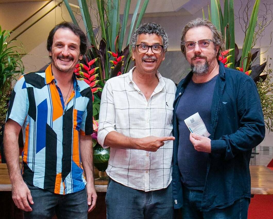 Demick Lopes Rodolffo Vaz e Augusto Madeira /Foto: Miguel Sá