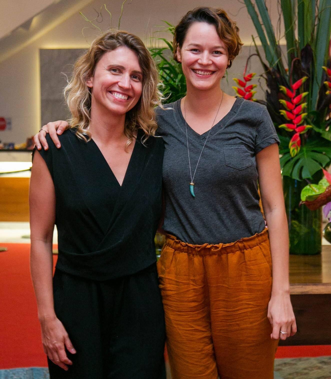 Joana de Verona e Carla Bohler /Foto: Miguel Sá