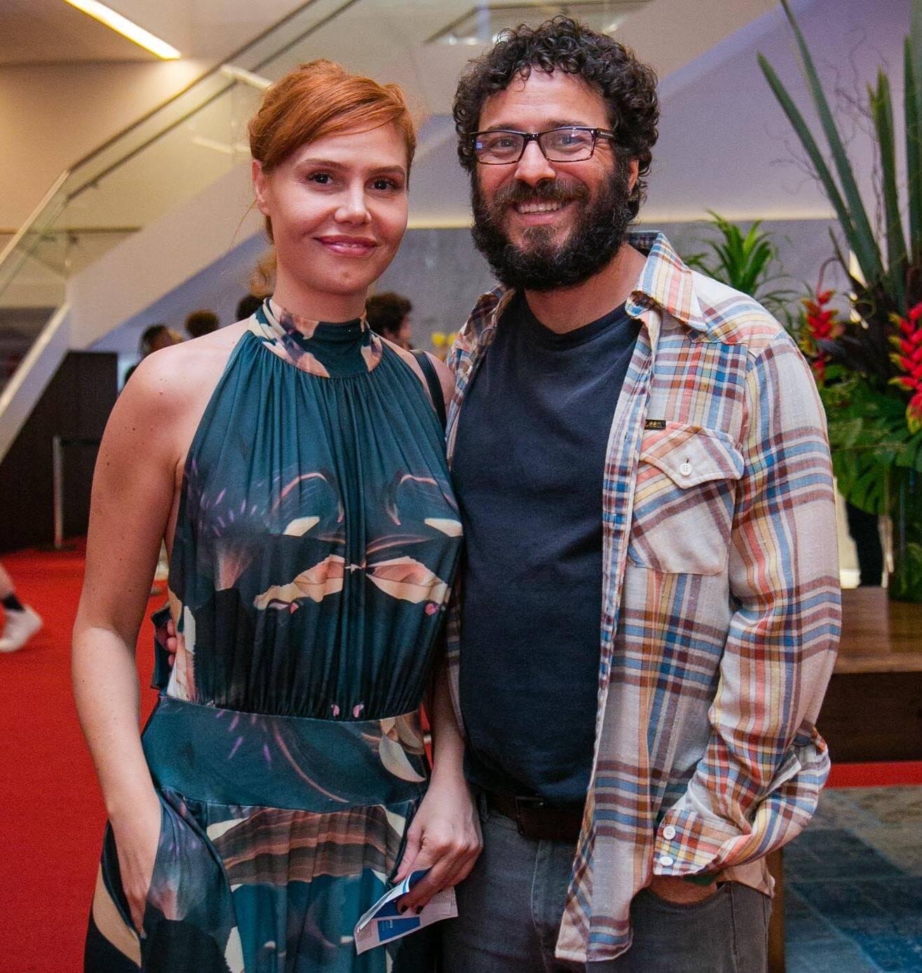 Thais Gulin e Alcemar Vieira /Foto: Miguel Sá