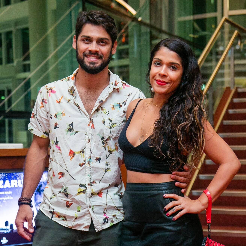 Felipe Leal e Maria Carol /Foto: Miguel Sá