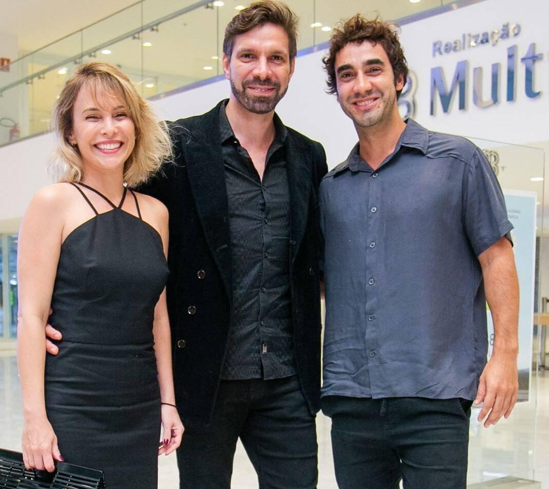 Fernanda Nobre, José Roberto Jardim e Gabriel Godoy /Foto: Miguel Sá