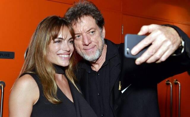 Emilia Attias e Leo Gandelman