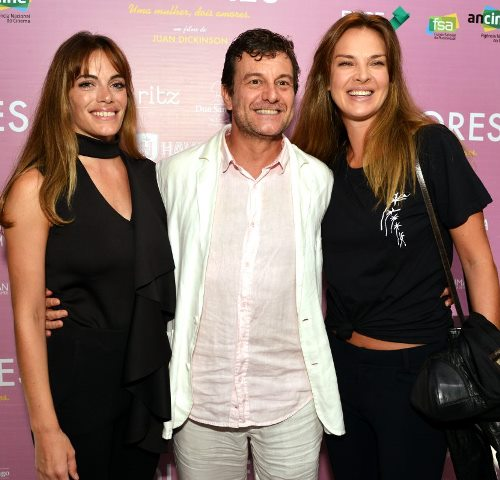Emilia Attias, Roberto Birindelli e Letícia Birkheuer