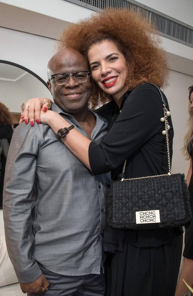 Joaquim Barbosa e a cantora Vanessa Da Mata