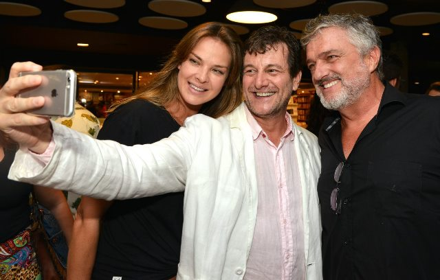 Letícia Birkheuer, Roberto Birindelli e  Werner Schünemann