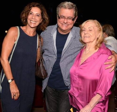 Angela Vieira, Flavio Marinho e Jacqueline Laurence