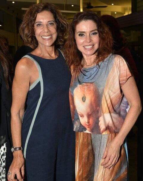 Angela Vieira e Françoise Forton