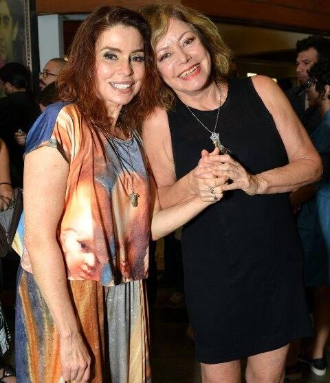 Françoise Forton e Alcione Mazzeo