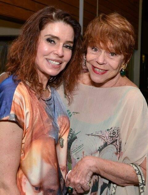Françoise Forton e Gilda Valentim