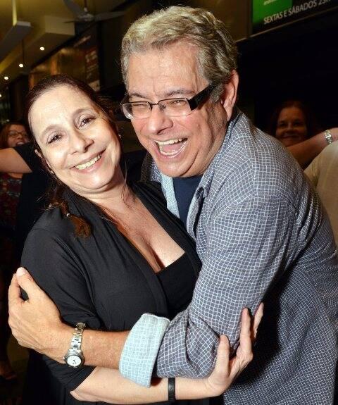Bia Nunes e Flavio Marinho