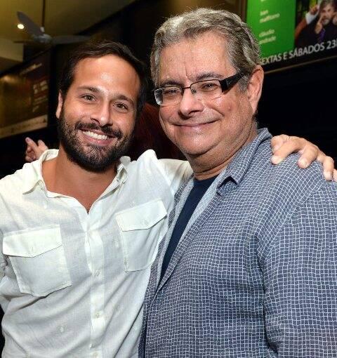 Marcelo Calero e Flavio Marinho