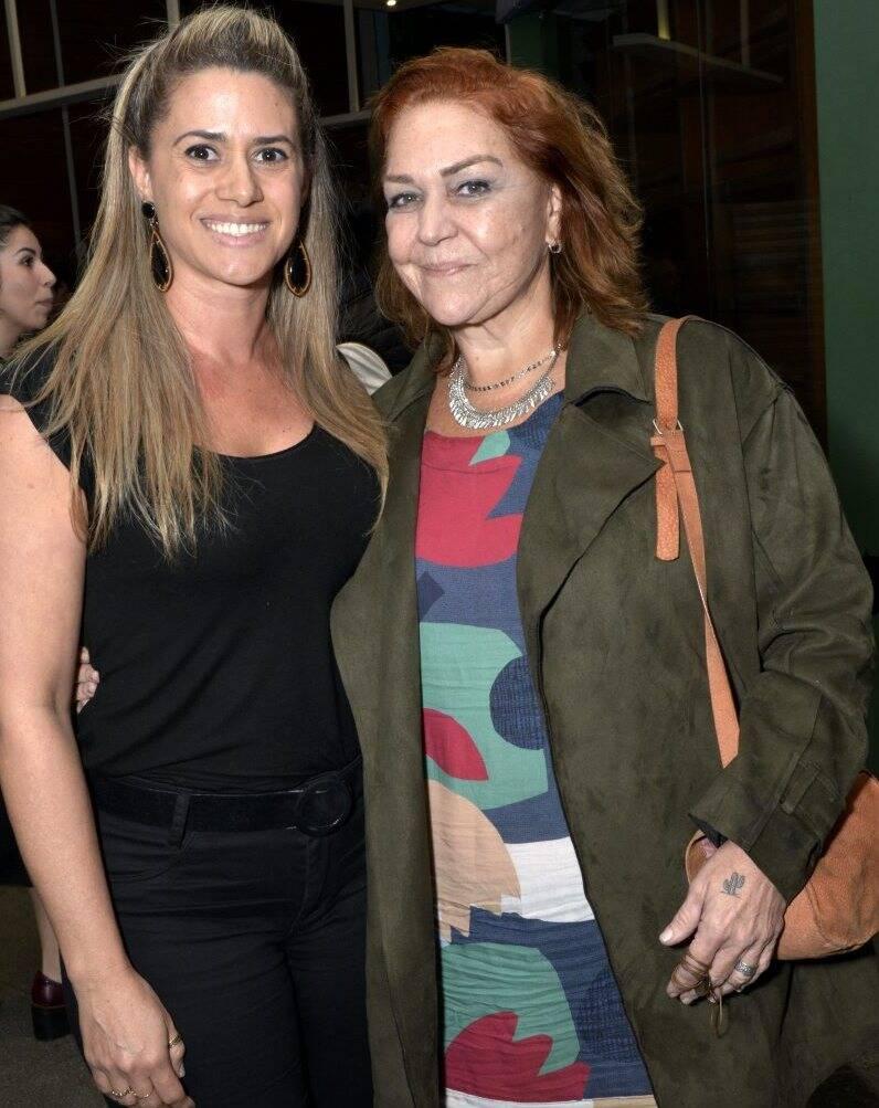 Suedir Martins e Yolanda Aguiar -  Fotos: Cristina Granato