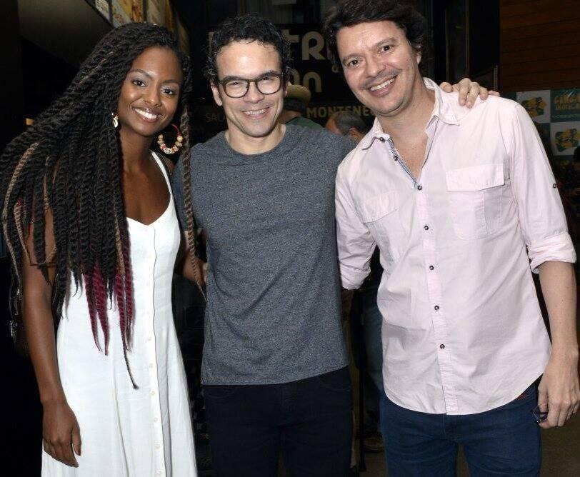 Eli Ferreira, Ricardo Soares e André Junqueira  - Fotos: Cristina Granato