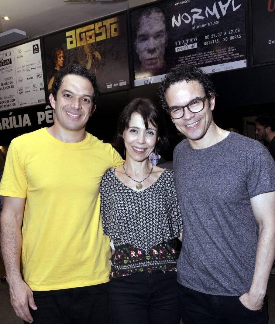 Fifo Benicasa, Nara Monteiro e Ricardo Soares - Fotos: Cristina Granato