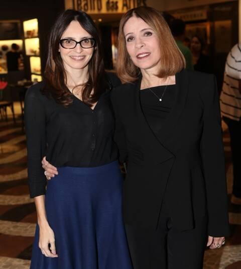 Jade e a sua mãe Liège Monteiro