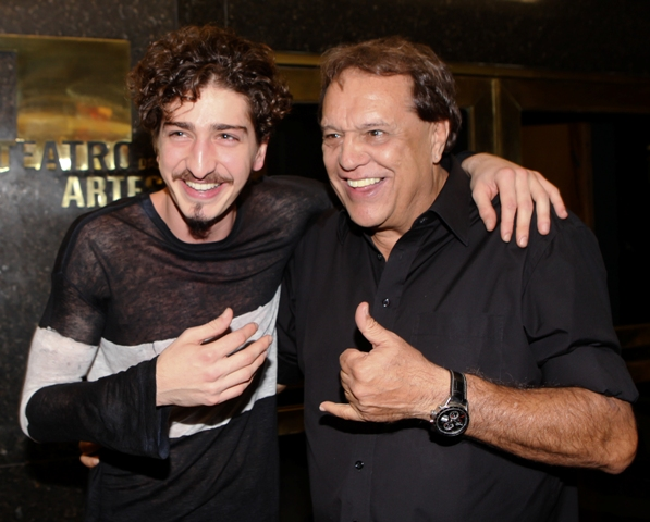 Johnny Massaro e Dennis Carvalho