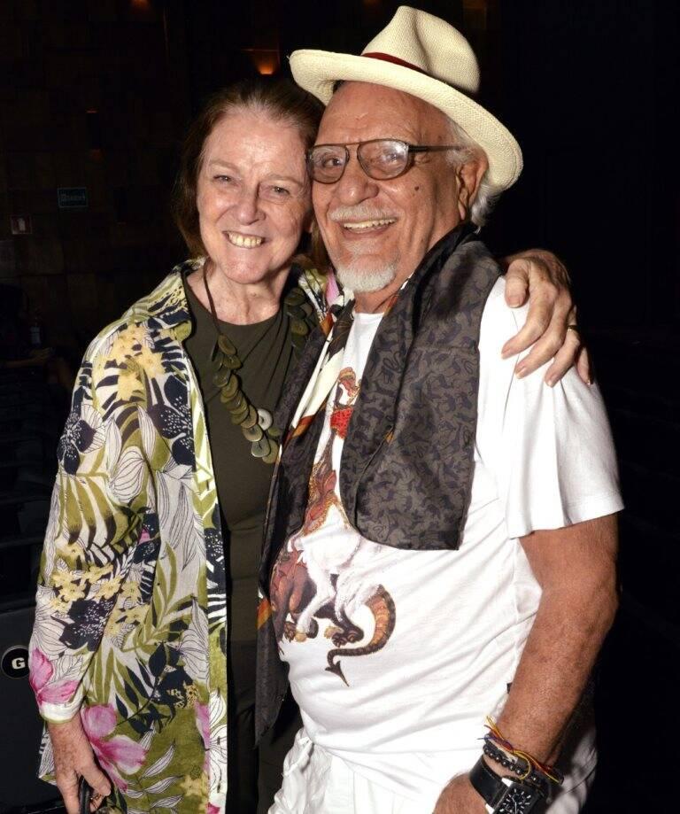Norma Thiré e Amir Haddad