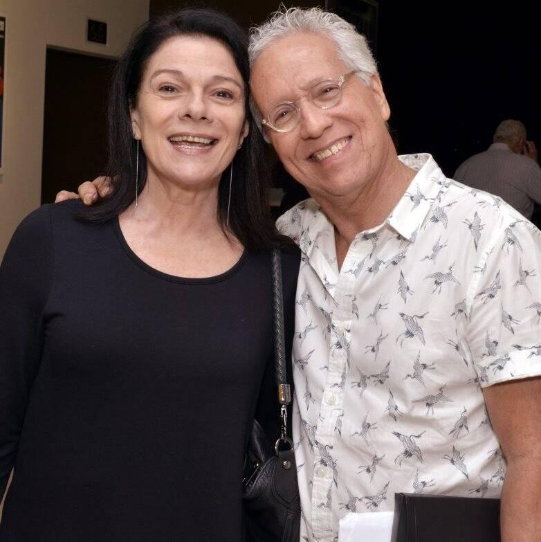 Tessy Callado e Sérgio Fonta