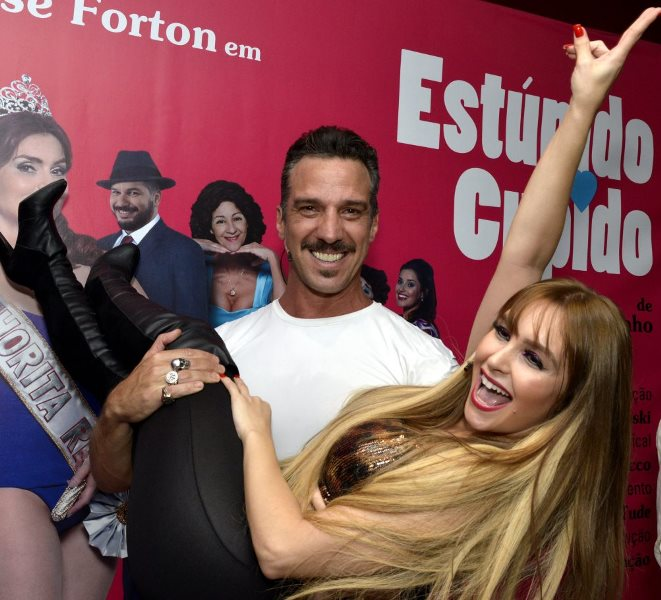 Carlos Bonow e Carla Diaz
