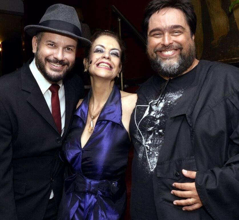 Maurício Baduh, Maria Sita e Eduardo Barata