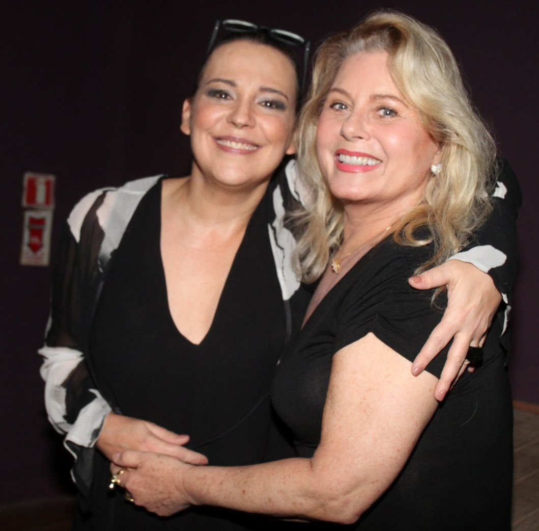 Ana Beatriz Nogueira e Vera Fischer