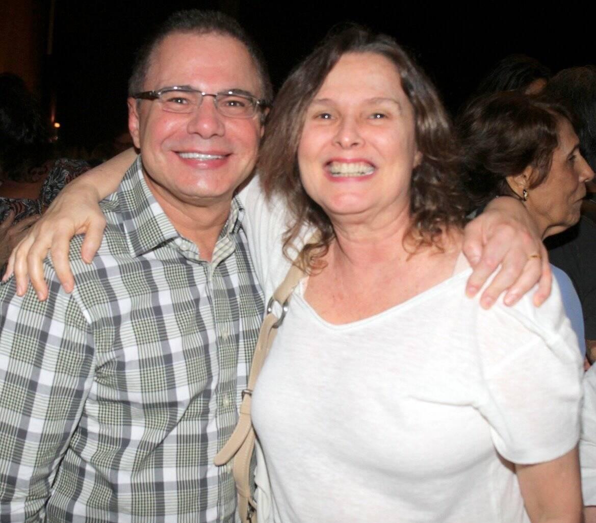 Ricardo Linhares e Louise Cardoso