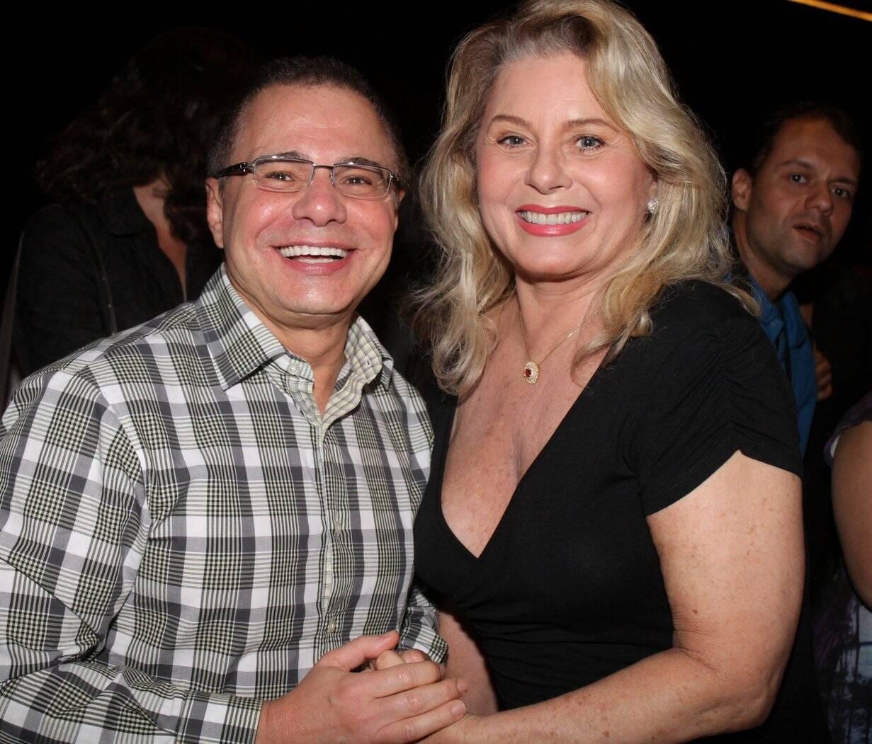 Ricardo Linhares e Vera Fischer