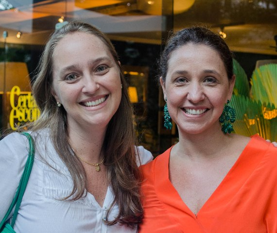 Adriana Valle e Patrícia Carvalho
