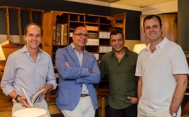 Dado Castello Branco, Arnaldo Danemberg, Pedro Ariel Santana e Erick Figueira de Mello