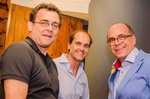 Maneco Quinderé, Dado Castello Branco e Arnaldo Danemberg