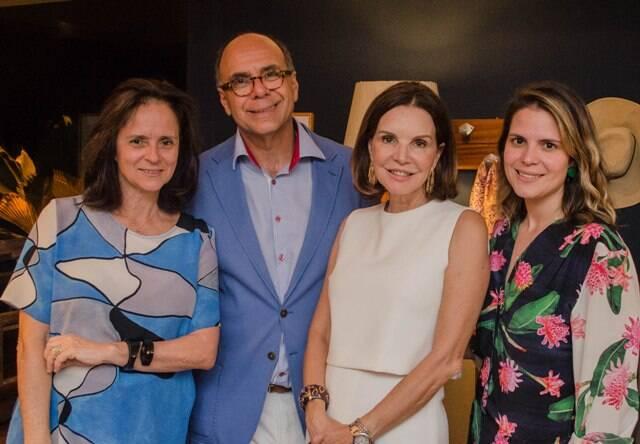 Patrícia Quentel, Arnaldo Danemberg, Patrícia Mayer e Paloma Danemberg