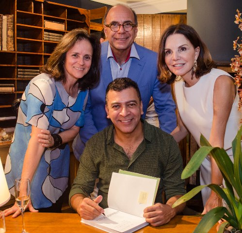 Patrícia Quentel, Arnaldo Danemberg, Pedro Ariel Santana e Patrícia Mayer