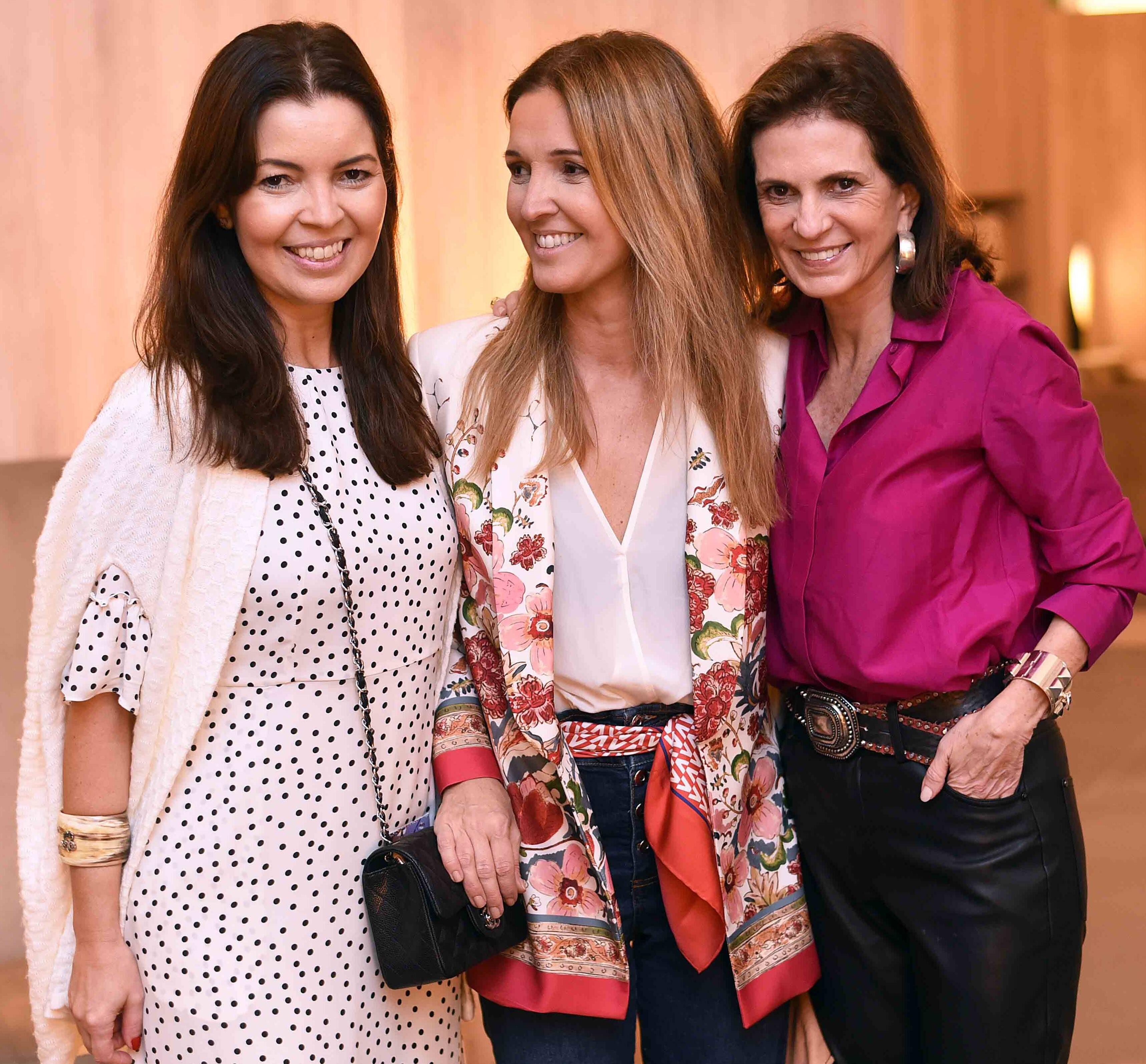 Alessandra Smith, Vanessa Câmara e Paula Nabuco /Foto: Ari Kaye