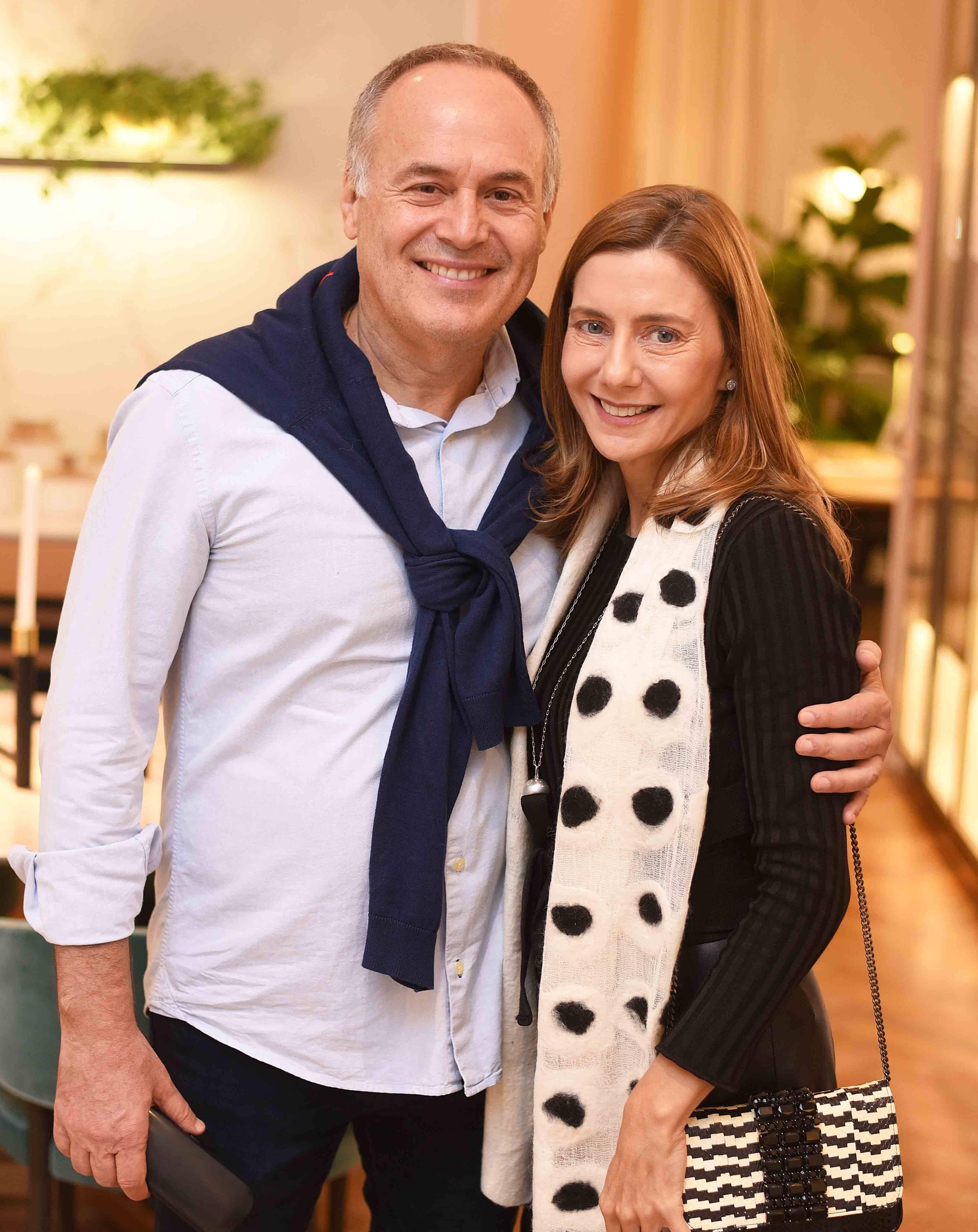 Gian Franco Ronchi e Fernanda Marcolini  /Foto: Ari Kaye