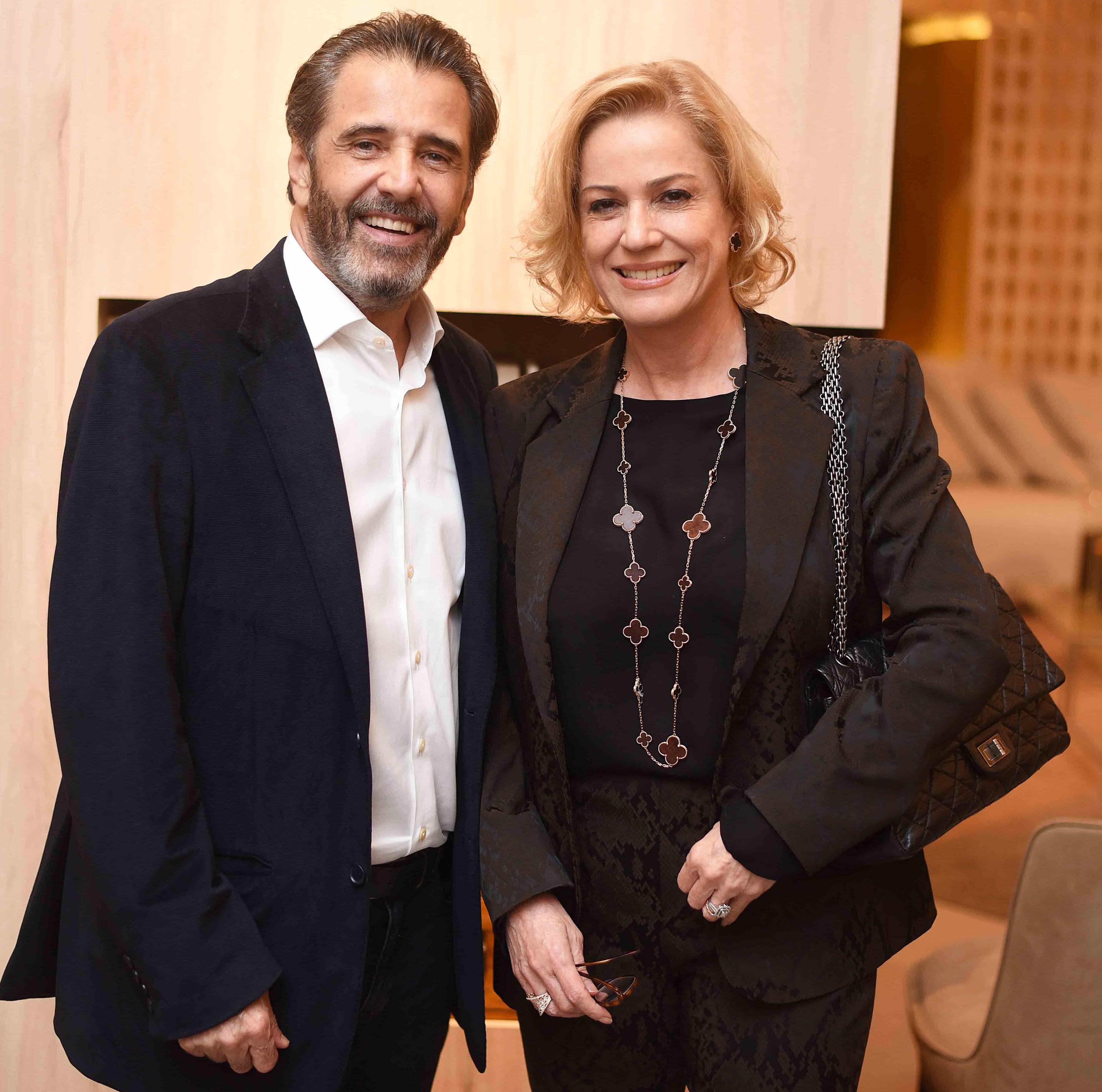 Claudio Pereira e Marcia Peltier  /Foto: Ari Kaye