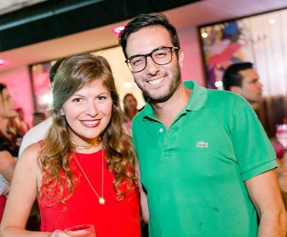 Julia Werneck e Felipe Ramalho