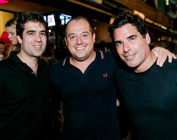 Rafael Camarano, Michel Diamant e Alexandre Haar