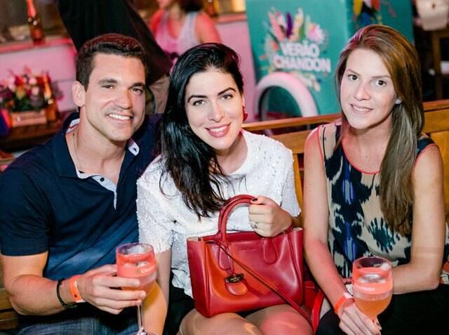 Zé Freitas, Maria Pedroso e Julia Mello