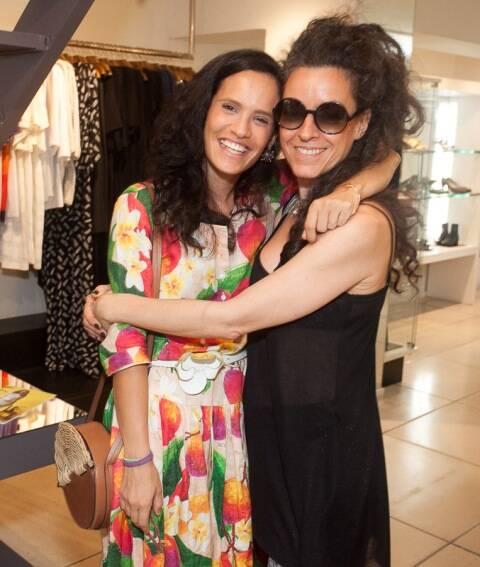 Gisela Pecego e Claudia Savelli