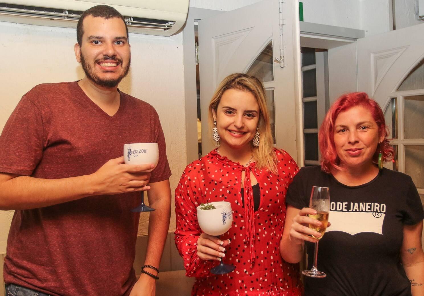 Jean Anjos, Herika Barreto e Fiu Ferreira  /Foto: Gianne Carvalho