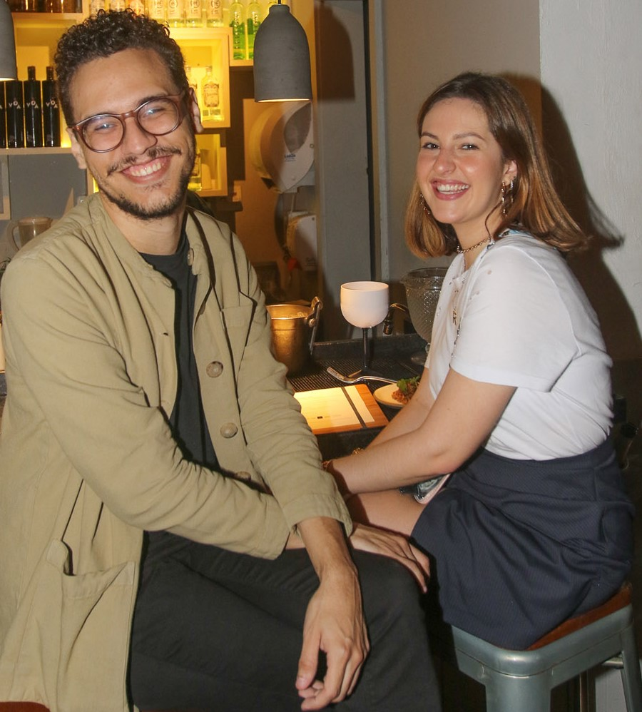 João Magagnim e Raquel Fejgiel  /Foto: Gianne Carvalho