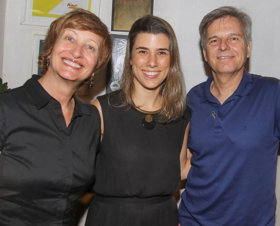 Sonia Bridi, Marcela Barros e Paulo Zero  /Foto: Gianne Carvalho