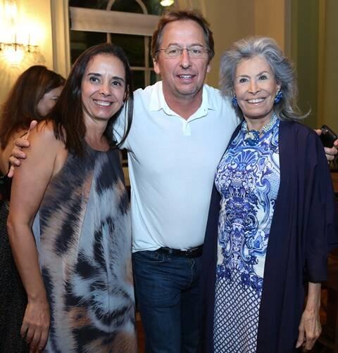 Adriana Schettino, Janick Daudet e Gisella Amaral