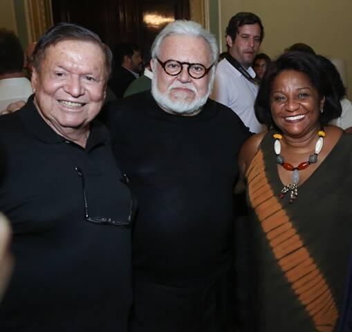 Boni, Ricardo Amaral e Nilcemar Nogueira