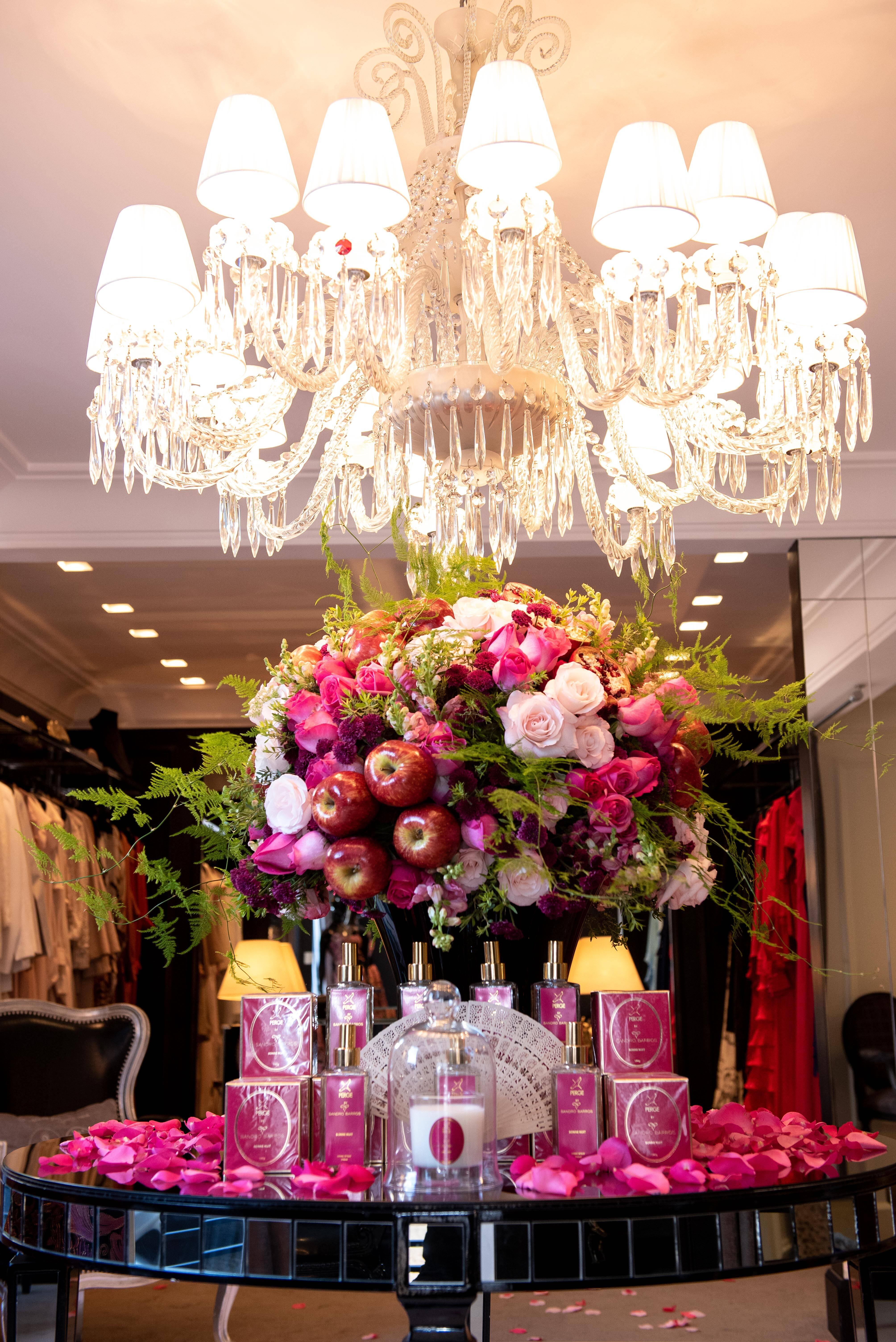 Detalhe da decoração da mesa / Foto: Lu Prezia