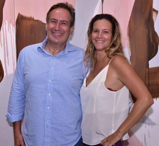 Rodrigo e Viviane Caldas