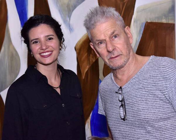 Bibiana Macedo e Daniel Feingold