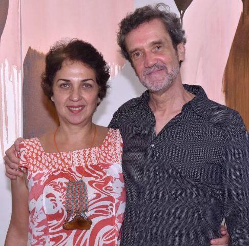 Suzana Queiroga e Arnaldo de Melo