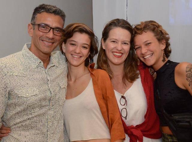 Gustavo, Yasmin, Jéssica e Ludmila Gelli