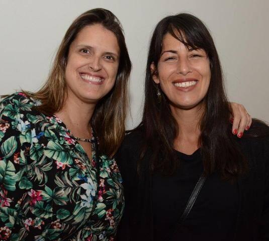 Rita Capell e Andréa Gonçalves